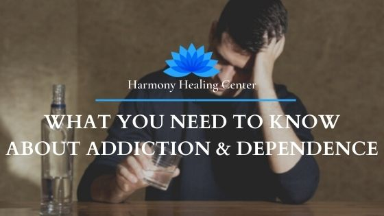 man with alcohol addiction and dependence