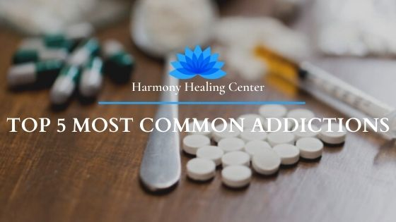 drugs of the most common addictions